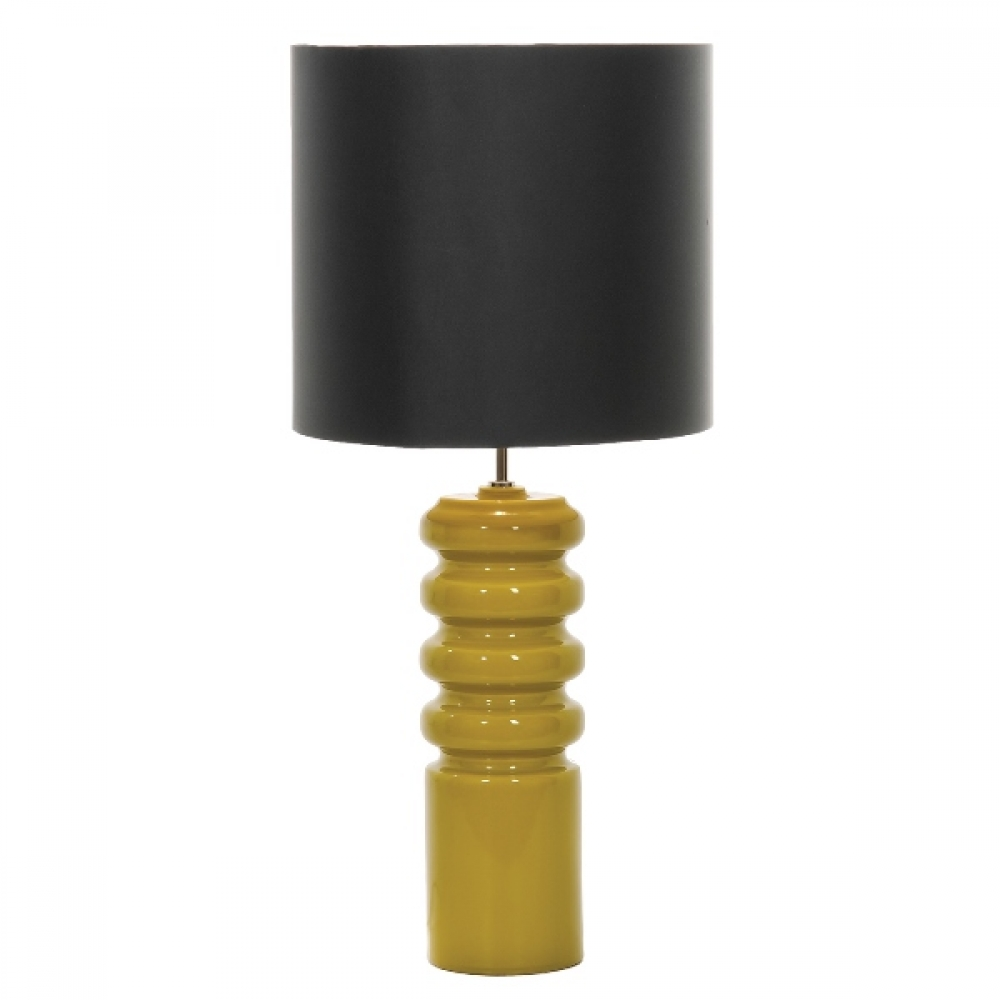 Contour Table Lamp and ebony shade